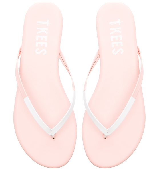 TKEES Tips sandal in blush - Leather upper with rubber sole. TKEE-WZ40. TIPS. For...