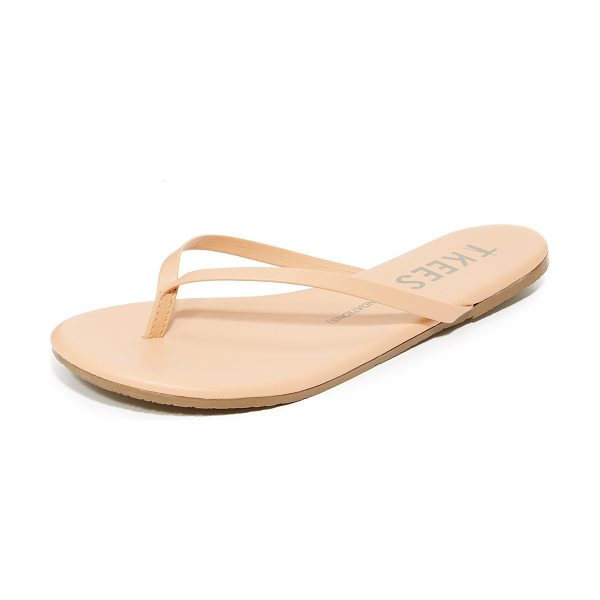 TKEES foundations flip flops in nude beach - A makeup palette for the feet, these TKEES flip-flops...