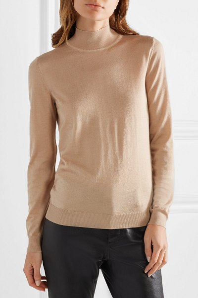 Tom Ford cashmere and silk-blend turtleneck sweater in beige - TOM FORD's sweater goes with virtually everything in...