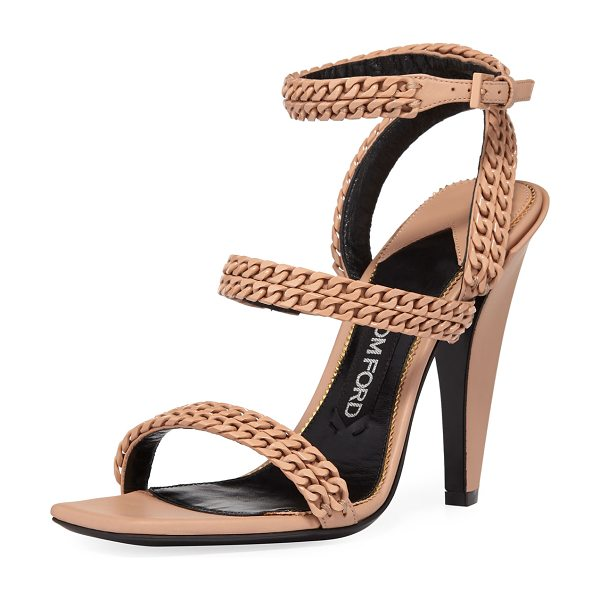 00b71aaf884c Tom Ford Chain Strappy 105mm Sandals