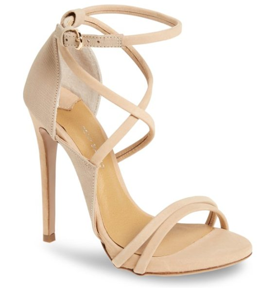 TONY BIANCO alita strappy sandal - Sinuous straps and mixed-finish leather lend uptown...