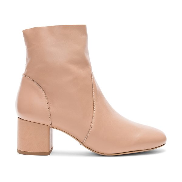"Tony Bianco Aurora Bootie in tan - ""Leather upper with man made sole. Side zip closure...."