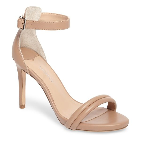 Tony Bianco camila strappy sandal in skin capretto leather