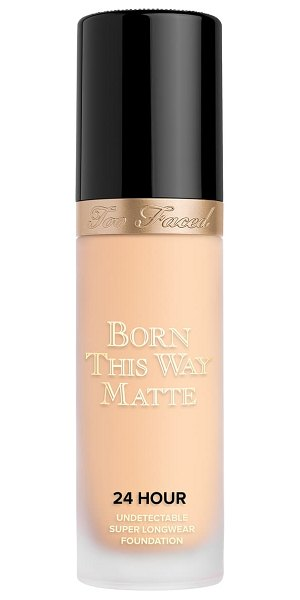 Too Faced born this way matte 24-hour foundation in vanilla