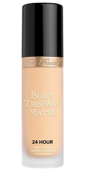 Too Faced born this way matte 24-hour foundation in almond