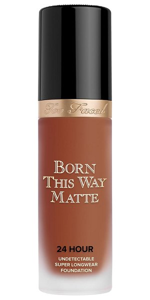 Too Faced born this way matte 24-hour foundation in sable