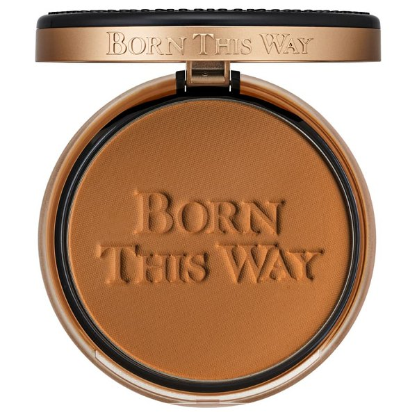 Too Faced born this way undetectable medium-to-full coverage powder foundation in chai