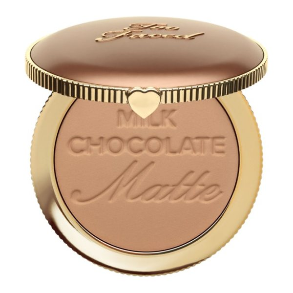 Too Faced chocolate soleil bronzer in milk chocolate soleil - What it is: A bronzer that creates allover warmth and...