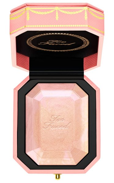 Too Faced pretty rich diamond light highlighter in fancy pink - What it is: A multi-use diamond fire highlighter with...