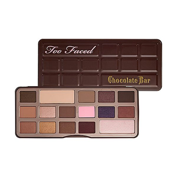 Too Faced the chocolate bar eye palette - A sweetly tempting array of 16 matte and shimmer shadows...