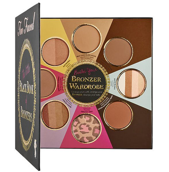 Too Faced the little black book of bronzers - A collection of Too Faced's eight unique, iconic...