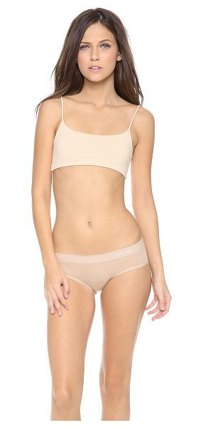 Top Secret prop top bralette in nude