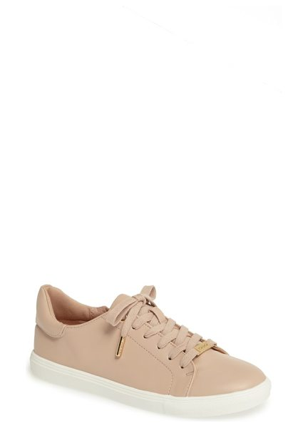 Topshop catseye sneaker in nude - A classic low-top sneaker with a padded collar makes a...