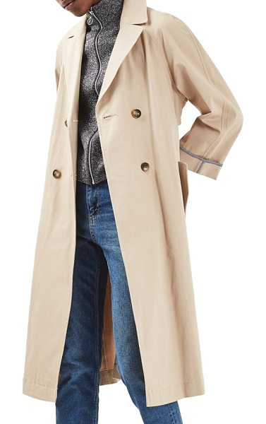 TOPSHOP relaxed trench coat - Practically the definition of timeless, this classic...