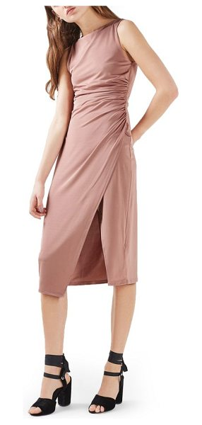 TOPSHOP slinky midi dress - How can you not strut in this body-skimming, knee-length...