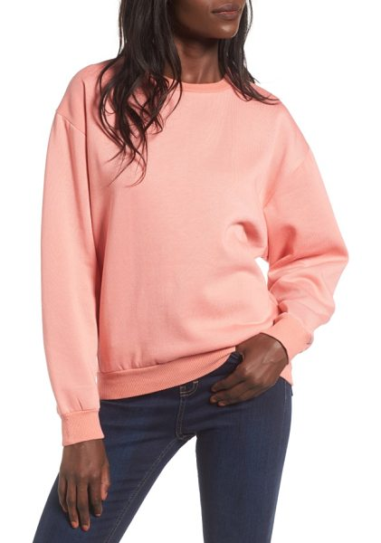 "TOPSHOP sloppy sweatshirt - In this case, ""sloppy"" is a good thing, because a..."