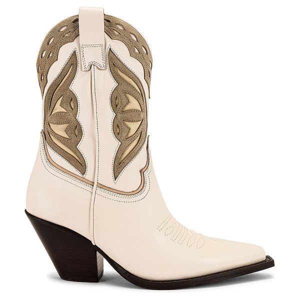 TORAL western boot in talco & sand