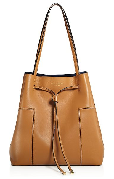 TORY BURCH Block-t Bucket Bag - Tory Burch Block-t Bucket Bag-Handbags