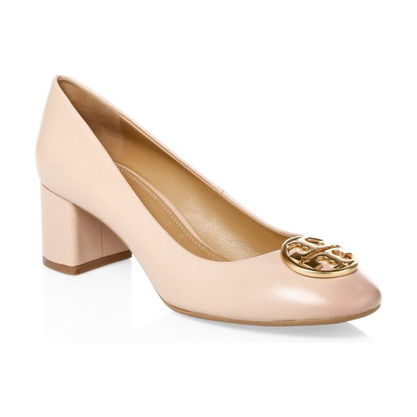 Tory Burch chelsea leather pump in sand