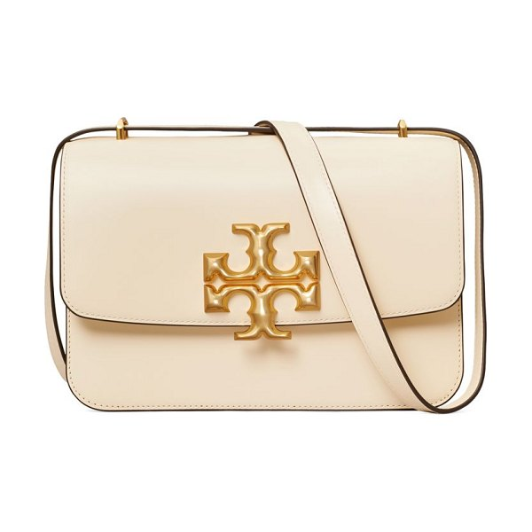 Tory Burch eleanor leather shoulder bag in new cream