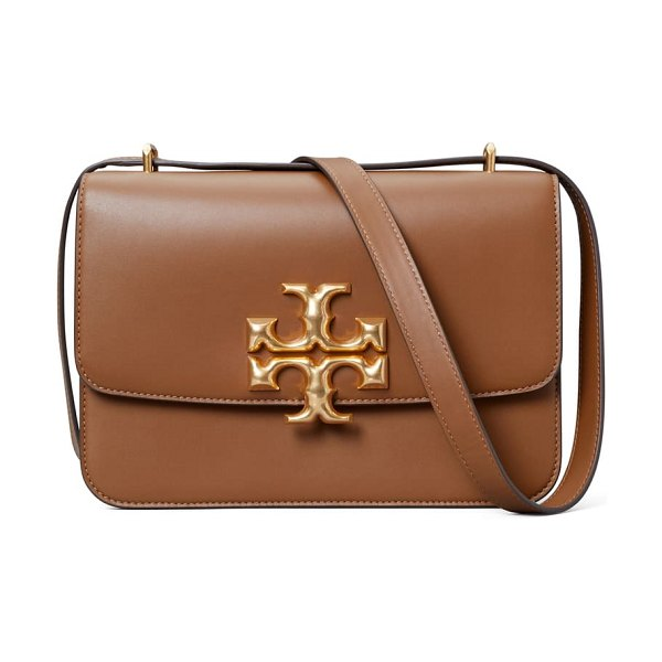 Tory Burch eleanor leather shoulder bag in brown