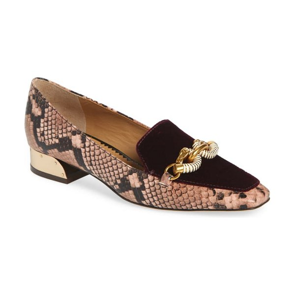 Tory Burch jessa loafer in pink