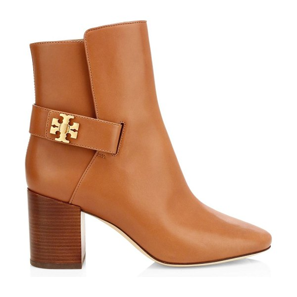 Tory Burch kira leather ankle boots in tan