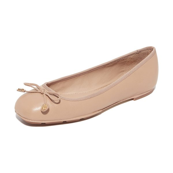 TORY BURCH laila driver ballet flats - Classic Tory Burch ballet flats in supple leather. A...