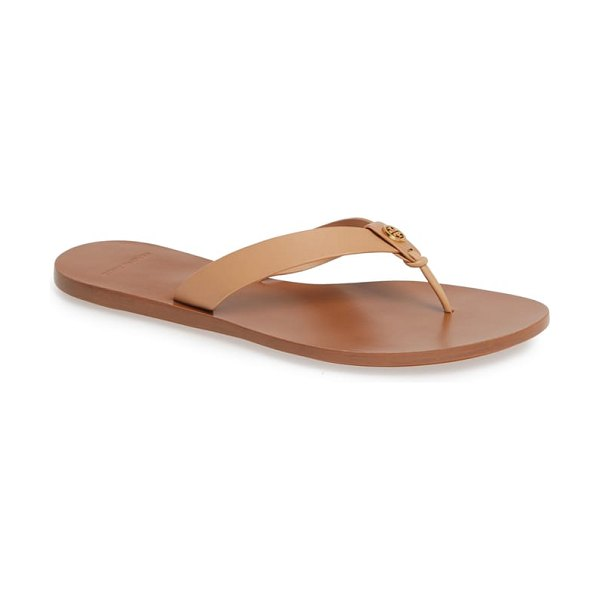 Tory Burch manon flip flop in beige