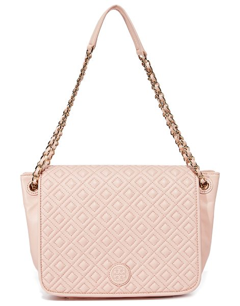 TORY BURCH marion quilted shoulder bag - A sophisticated Tory Burch shoulder bag in supple...