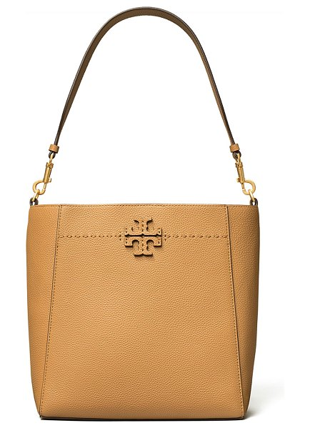 Tory Burch Medium McGraw Hobo Tote Bag in brown