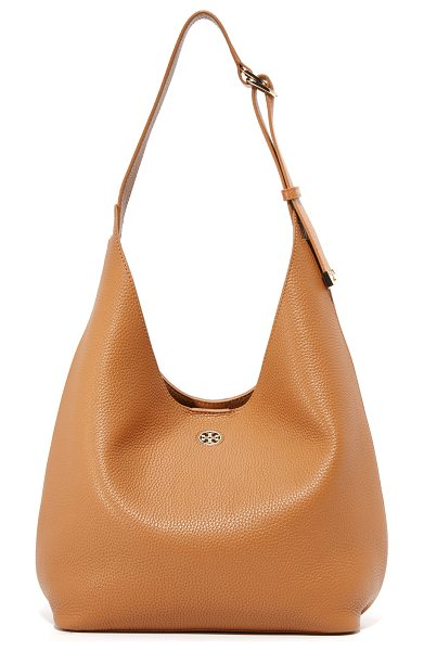 Tory Burch Tory Burch Perry Hobo Bag in bark/gold