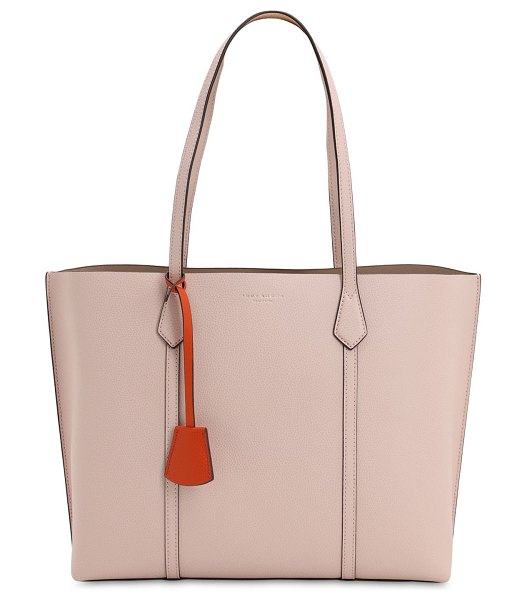 Tory Burch Perry multicolor leather tote bag in pink