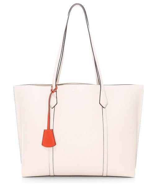Tory Burch perry triple compartment tote in shell pink