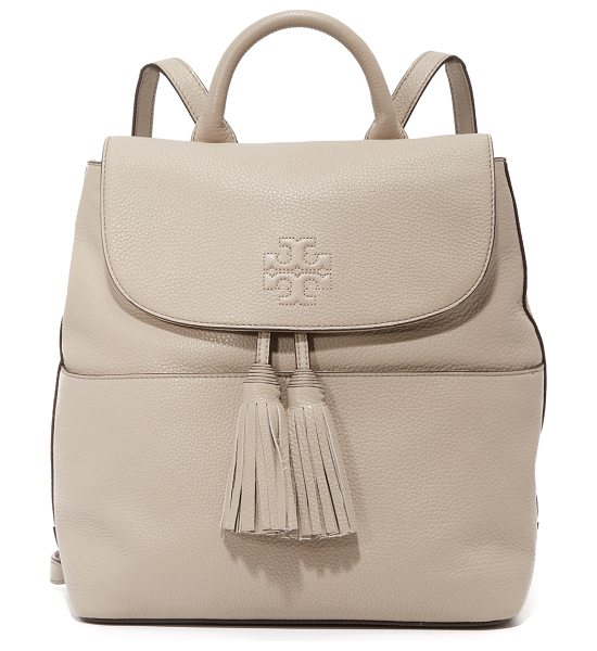 Tory Burch thea backpack in french gray