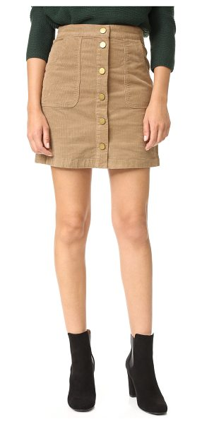 Tory Burch lucitano skirt in beachwood - This polished Tory Burch pencil skirt is crafted from...