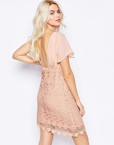 TRAFFIC PEOPLE Carry On Crochet Backless Dress - Casual dress by Traffic People, Lined cotton, Lightly...