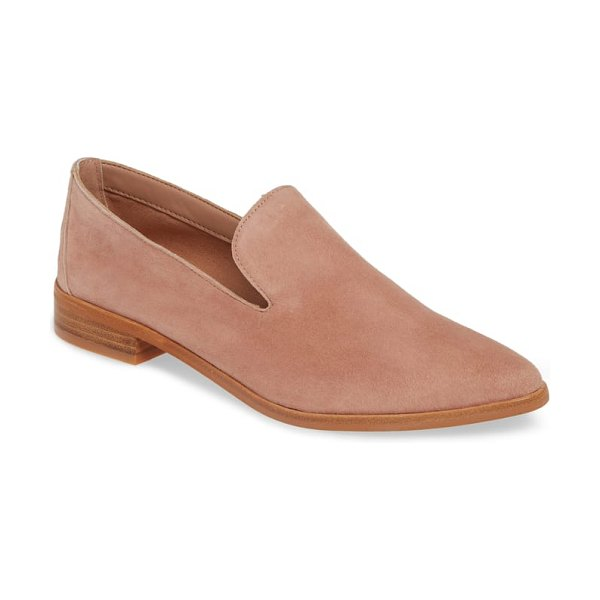 Treasure & Bond kena loafer in pink - A notched topline and tapered toe make this loafer a...
