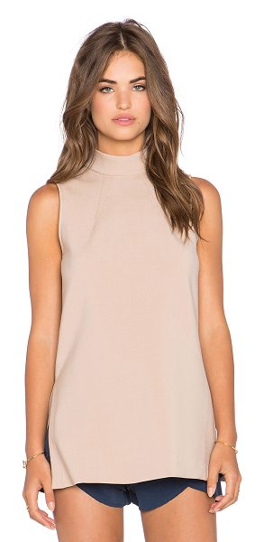 Trina Turk Jaya top in tan