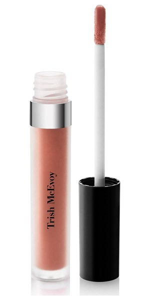 Trish McEvoy liquid lip gloss in nude