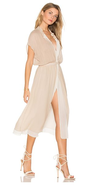 TROIS Alt Dress in beige