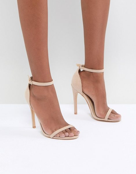 Truffle Collection barely there sandal in nudemicro - Shoes by Truffle, Take these cuties out-out, Barely...