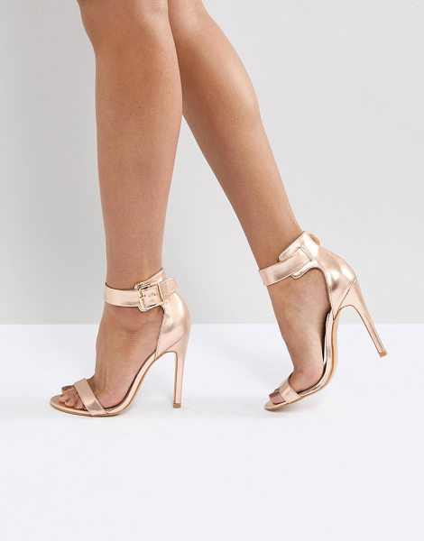 Truffle Collection heeled sandals in softrosegold - Shoes by Truffle, High heels, Serious sass included,...