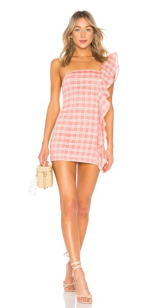 Tularosa Cait Dress in pink - Sassy meets chic with the Cait Dress by Tularosa....