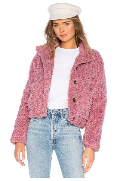 Tularosa clara jacket in mauve