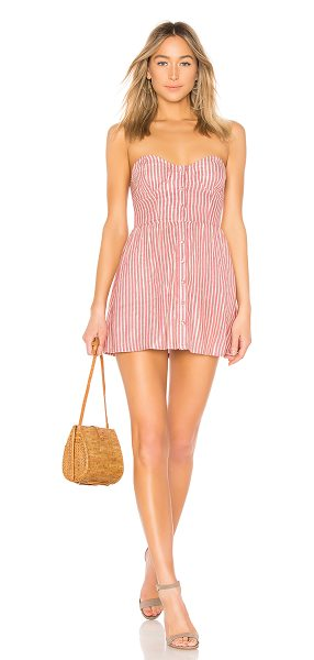 "Tularosa Drew Dress in mauve - ""Daydream of sunny days in Tularosa's Drew Dress. This..."