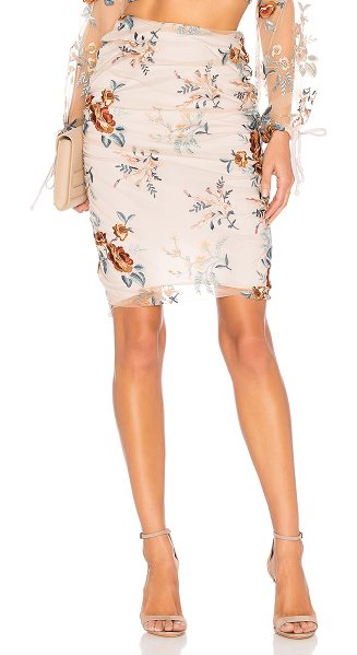 "TULAROSA Emily Skirt - ""Rendered in light-as-air chiffon, the Tularosa Emily Skirt..."