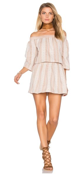 Tularosa Fiona Dress in nude - Neutral is where you stand. The Fiona Dress by Tularosa...