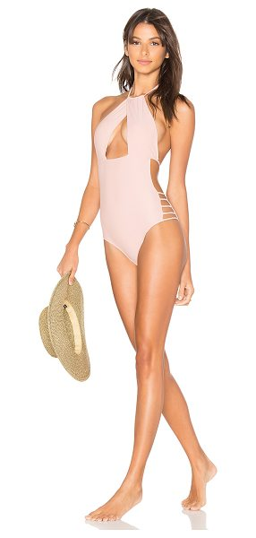 TULAROSA Haven One Piece in pink - Make no mistake about it, the Haven One Piece ranks in...