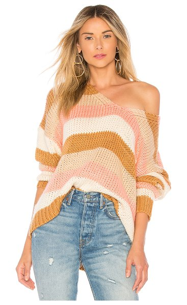 Tularosa Kate Sweater in tan - Off-duty or on-call, Tularosa's Kate Sweater offers a...
